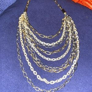 Very Pretty, Three Tone  Necklace